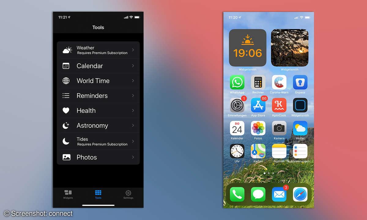 iOS 14 Widgetsmith