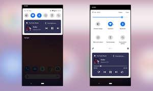 Android 11 Wiedergabesteuerung