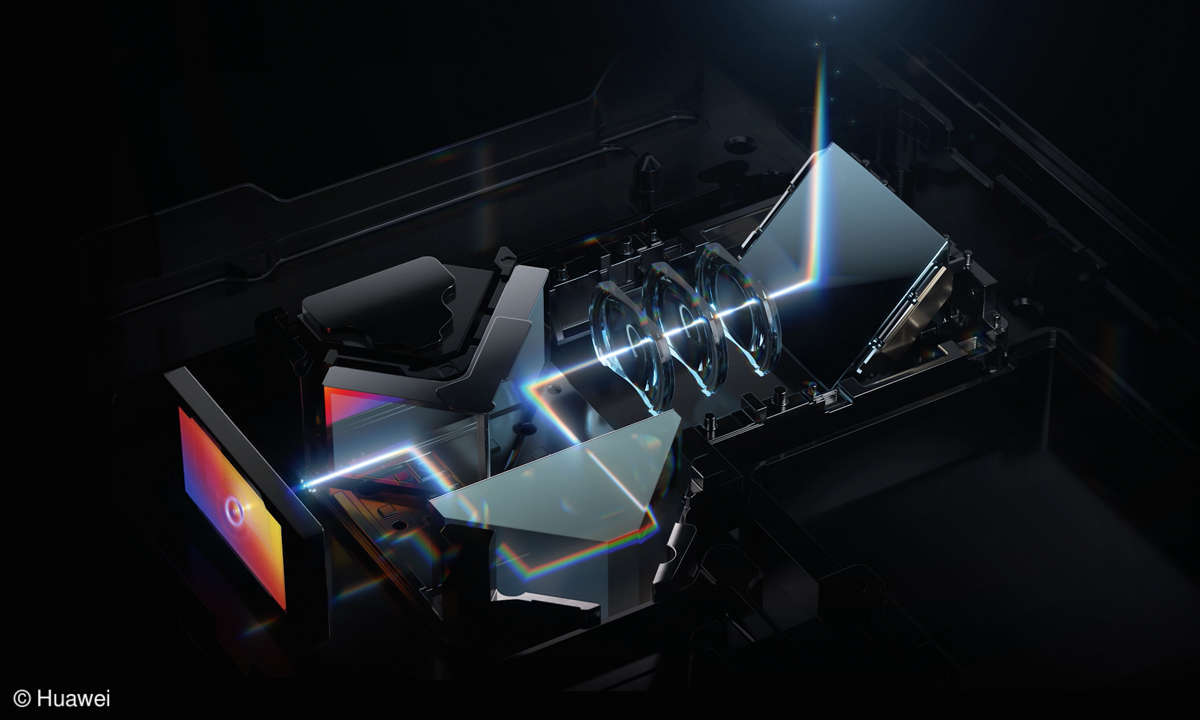 Huawei P40 Pro+ - Brennweite Detailansicht