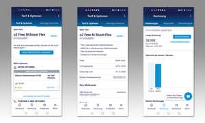 Service-App-Test 2020: Mein O2 (D) - Screenshots