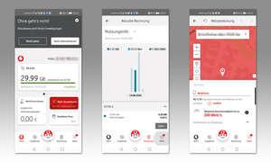 Service-App-Test 2020: Mein Vodafone (D) - Screenshots