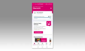 Service-App-Test 2020: Mein Magenta Austria - Screenshot