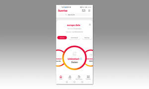 Service-App-Test 2020: My Sunrise - Screenshot