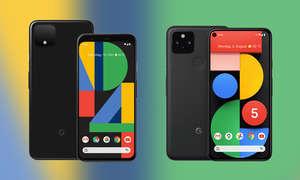 Google Pixel 4 (XL) vs. Google Pixel 5