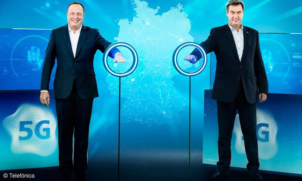 O2 startet sein 5G-Netz in Deutschland