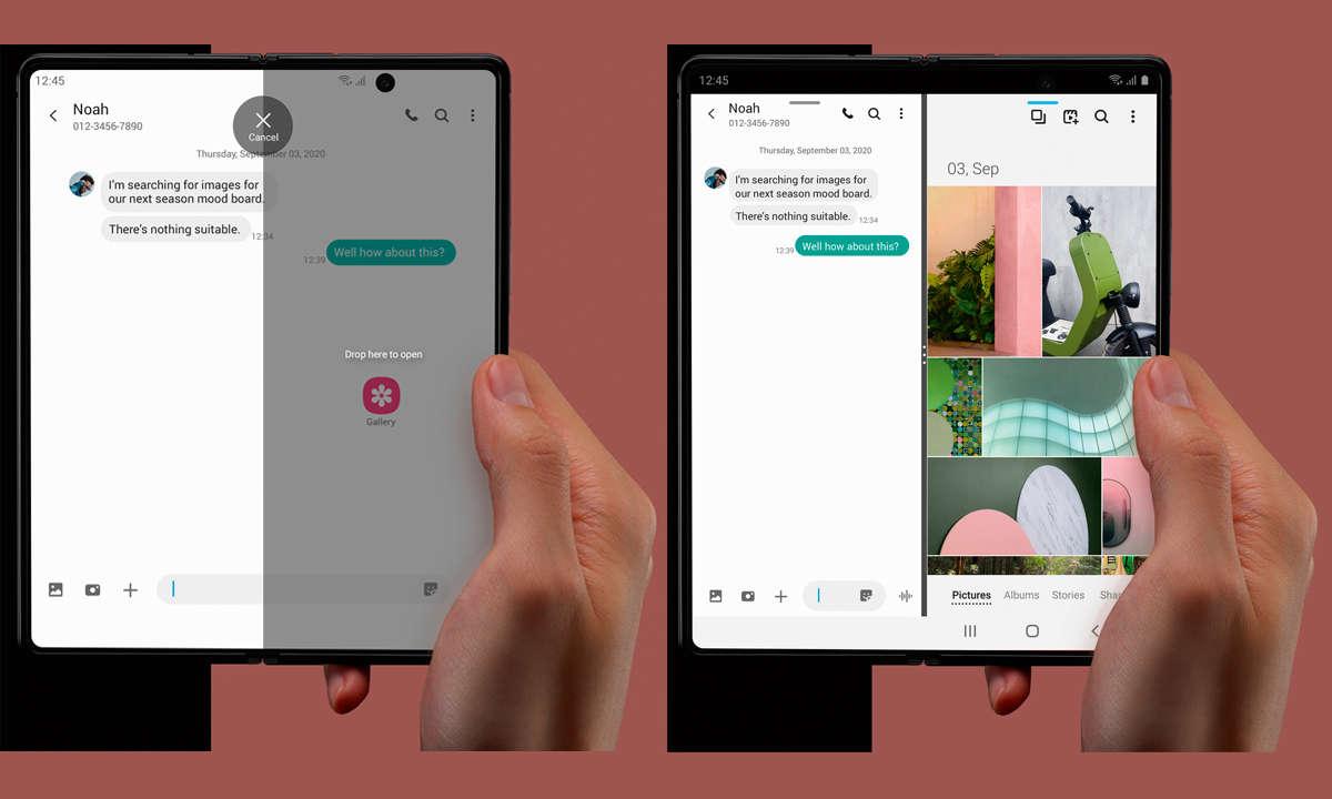 Samsung Galaxy Z Fold2 Display