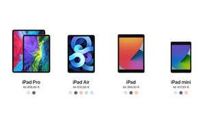 Apple iPad-Lineup 2020
