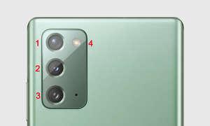 Samsung Galaxy Note 20 im Test: Kameras & Blitz