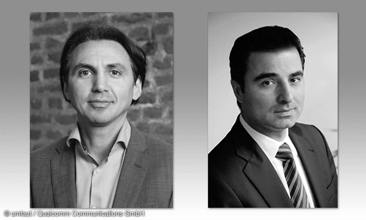 Tecversum Experten und Referenten: Hakan Ekmen und Hamid-Reza Nazemann