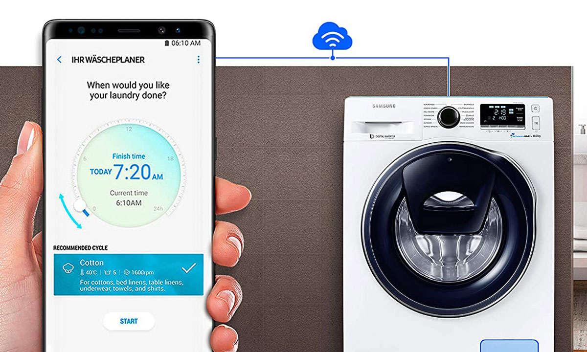 Samsung-smarte-Waschmaschine