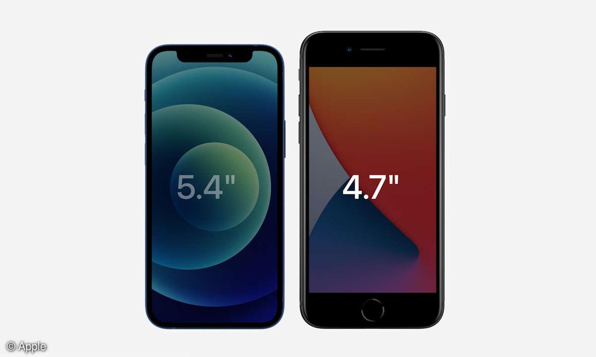 iPhone 12 Mini vs. iPhone 8