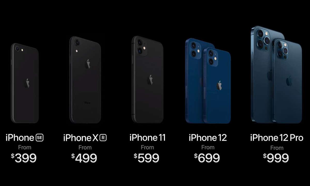 iphone 12 11 se xr groessenvergleich