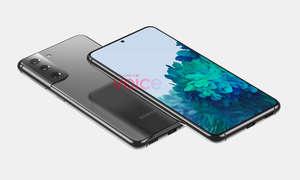 Galaxy S21 Design nach @OnLeaks