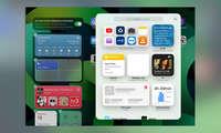 iPad einrichten Widgets