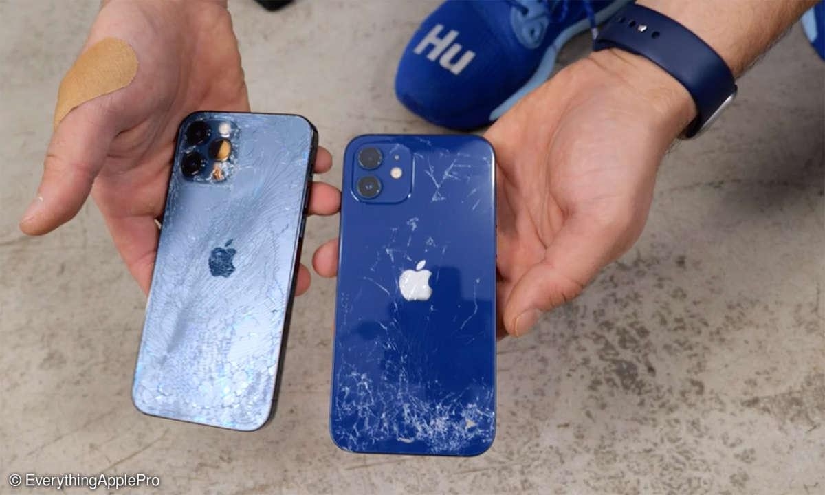 iPhone 12 10 Pro im Drop-Test