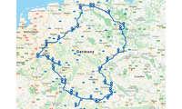 Ladenetztest DACH-Gebiet: Testroute Deutschland