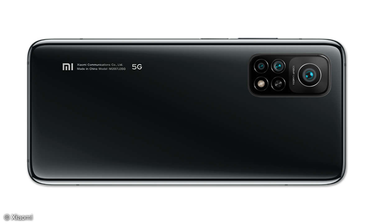 Xiaomi Mi 10T Pro im Test - Rückansicht