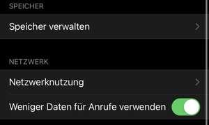 WhatsApp Speicherverwaltung