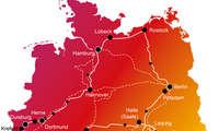 Mobilfunk-Netztest 2021 Deutschland Karte (Mitte-Norden)
