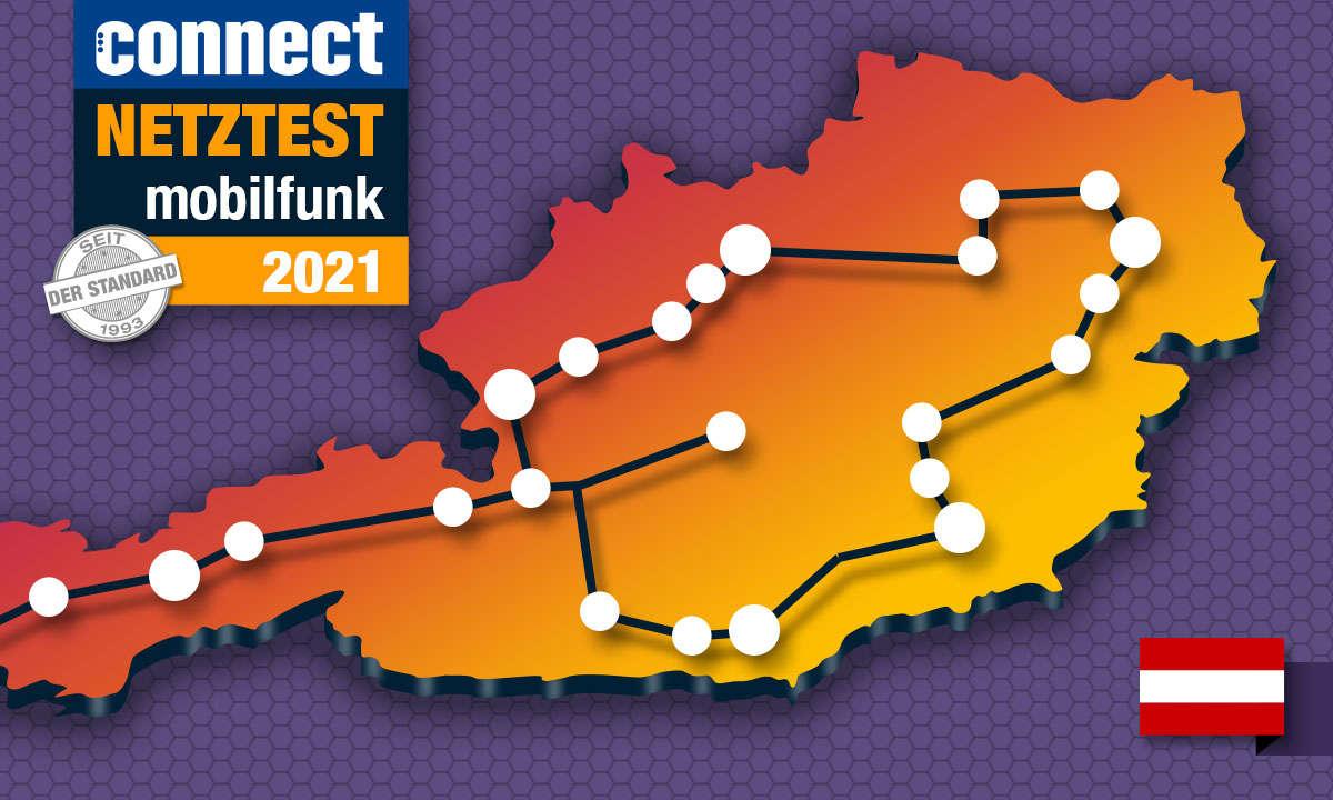 Mobilfunk-Netztest 2021: Die Handy-Netze in Österreich im Vergleich