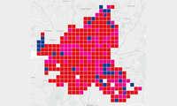 Städte-Wertung-Mobilfunk-Netztest 2021: Karte Hamburg