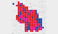 Städte-Wertung-Mobilfunk-Netztest 2021: Karte Köln
