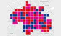 Städte-Wertung-Mobilfunk-Netztest 2021: Karte München