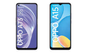 oppo a73 5g a15 smartphones