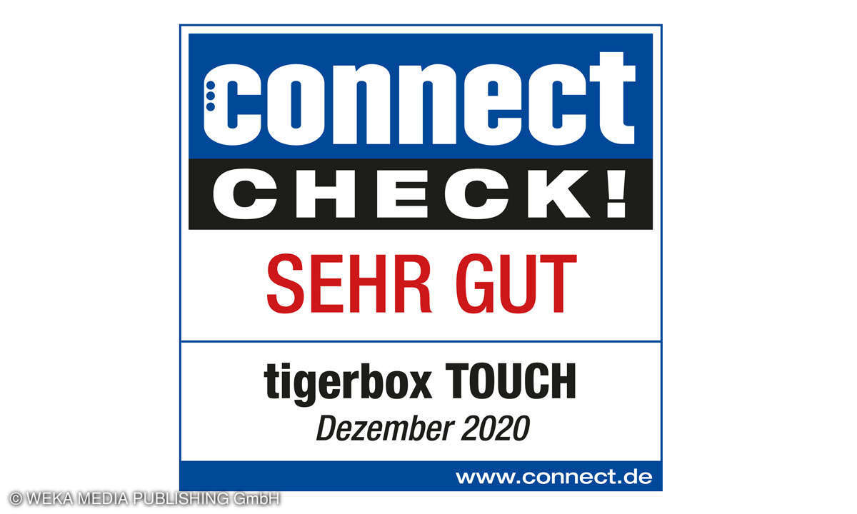 tigerbox TOUCH Test