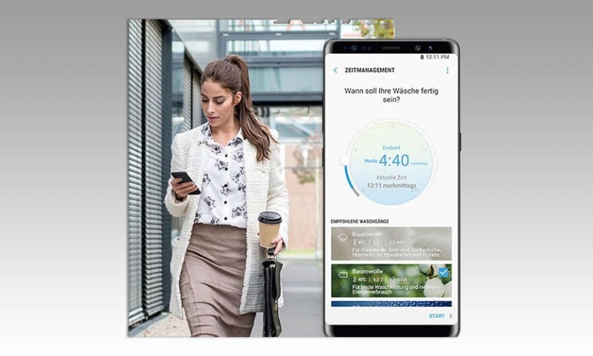 Samsung WW80T654ALX/S2 SmartThings-App