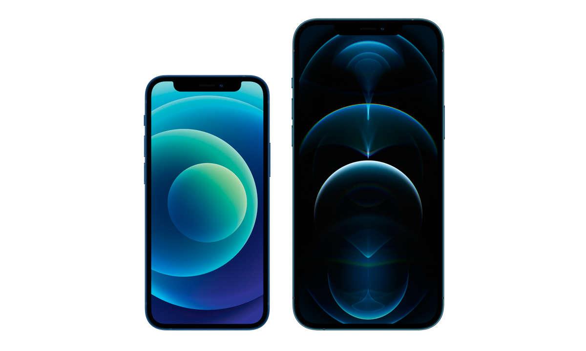 iPhone 12 Pro (Max) und iPhone 12 (Mini)