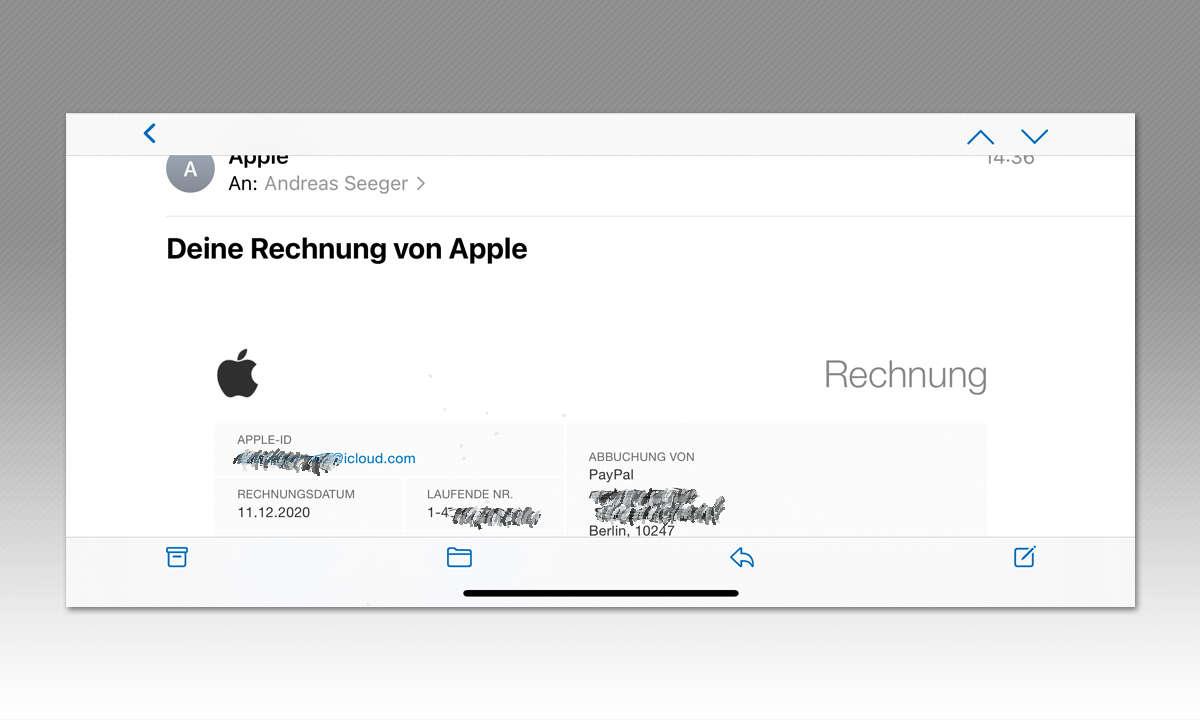 iPhone 12 Pro Max und iPhone 12 Mini im Test - Screenshot Mini quer
