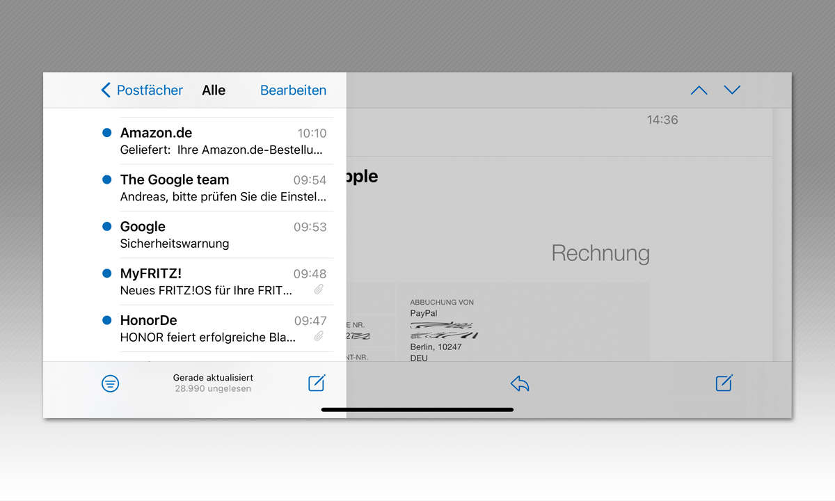 iPhone 12 Pro Max und iPhone 12 Mini im Test - Screenshot Max quer