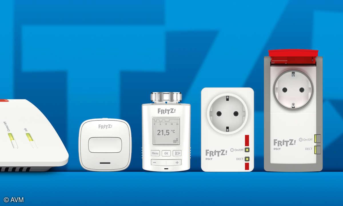 Heimvernetzung mit der Fritzbox - Smart schalten heizen Produkte
