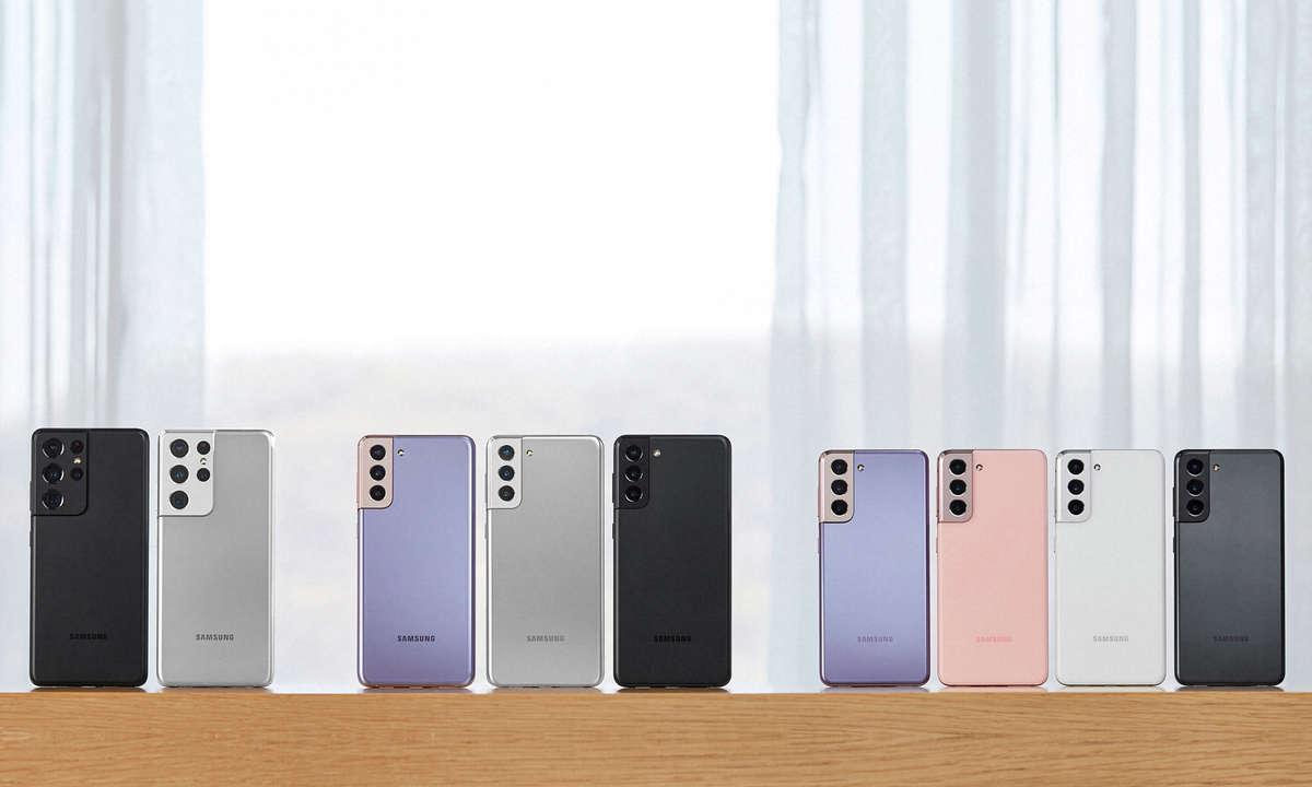 Samsung Galaxy S21 Ultra, Galaxy S21+ und Galaxy S21