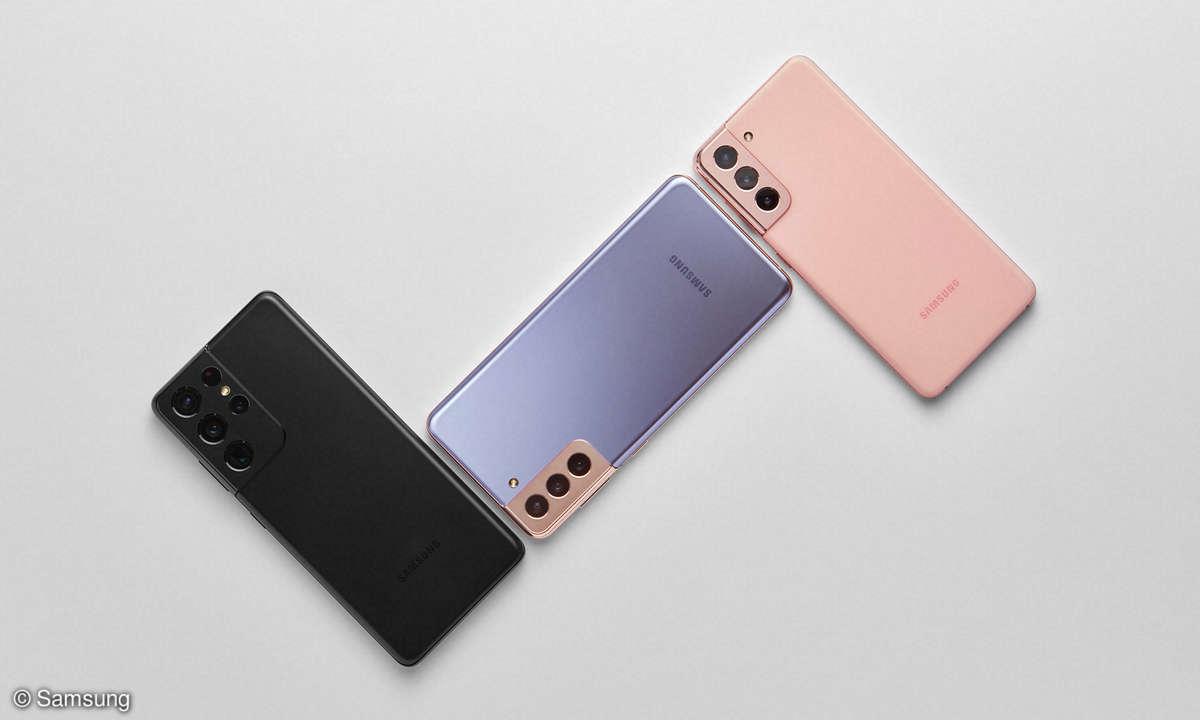 Samsung Galaxy S21 Ultra, S21 Plus und S21