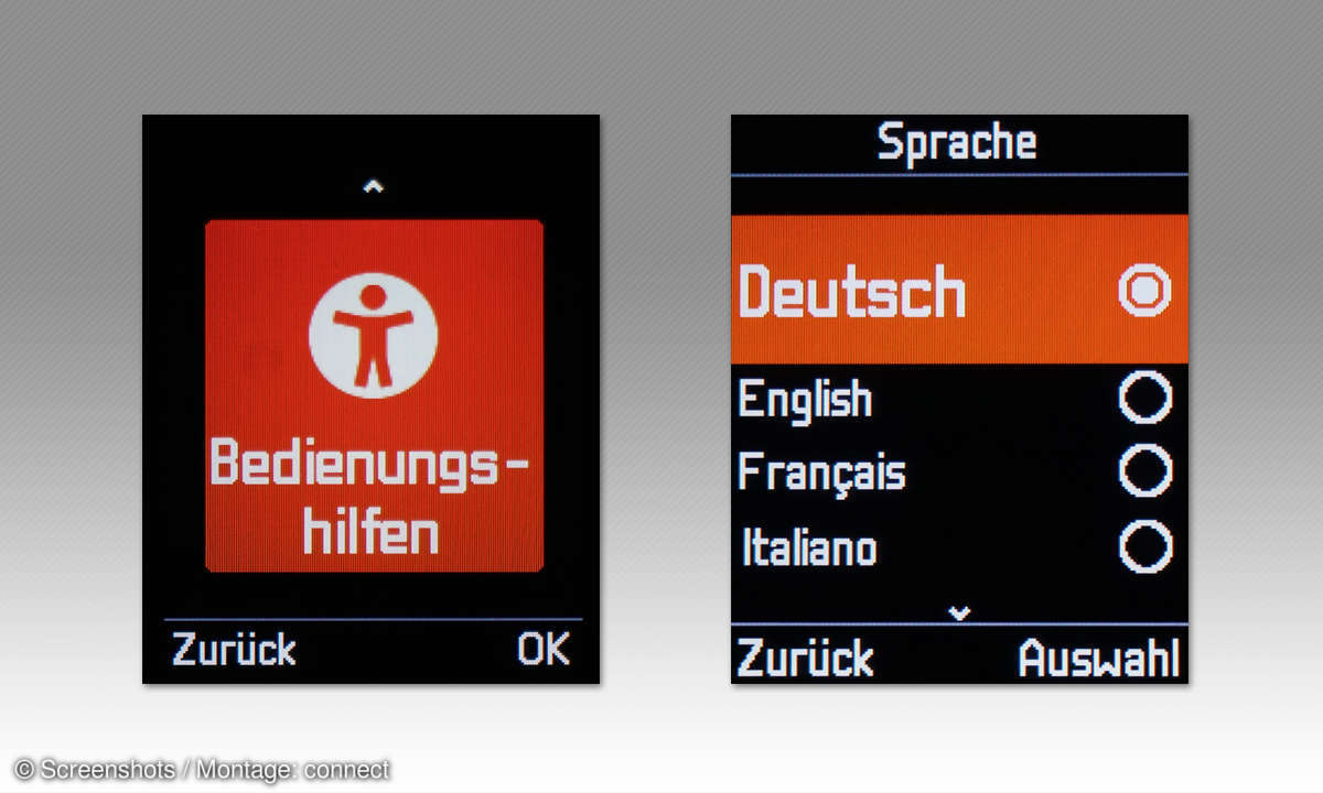 DECT-Telefone: Gigaset E720 HX im Vergleichstest - Screenshots
