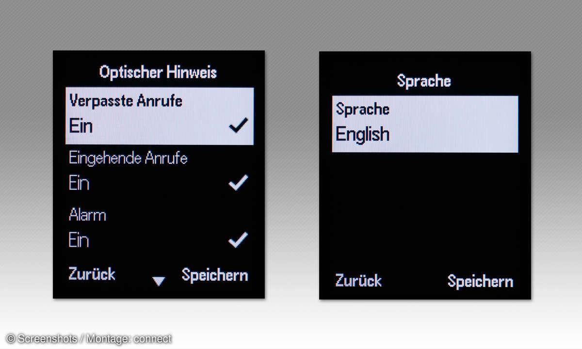 DECT-Telefone: Telekom Speedphone 32 im Vergleichstest - Screenshots