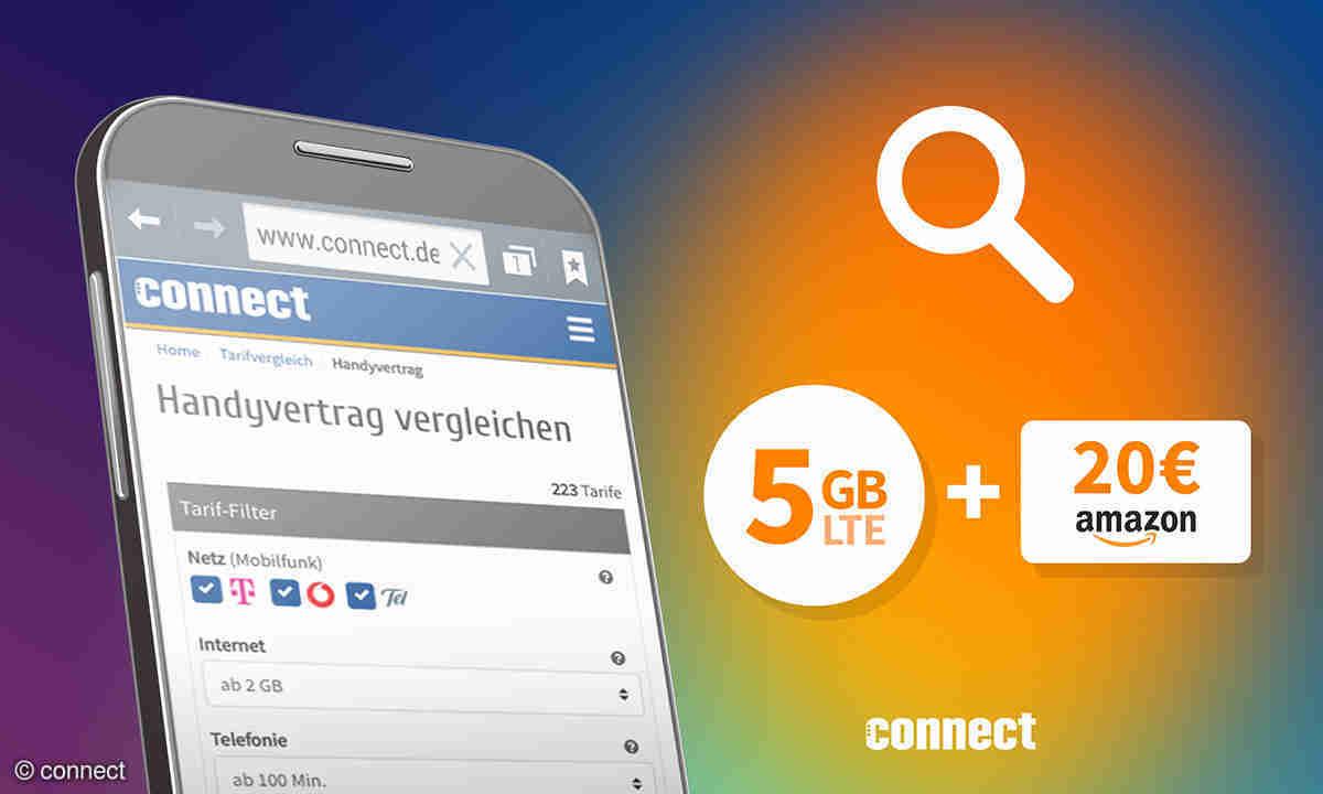 20 GB LTE im Telekom Netz für 20 Euro   connect