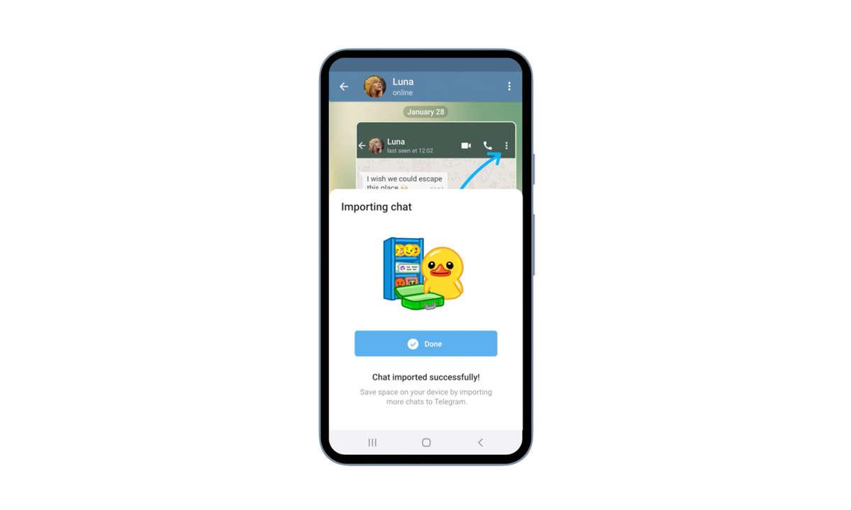 Telegram Chat-Import
