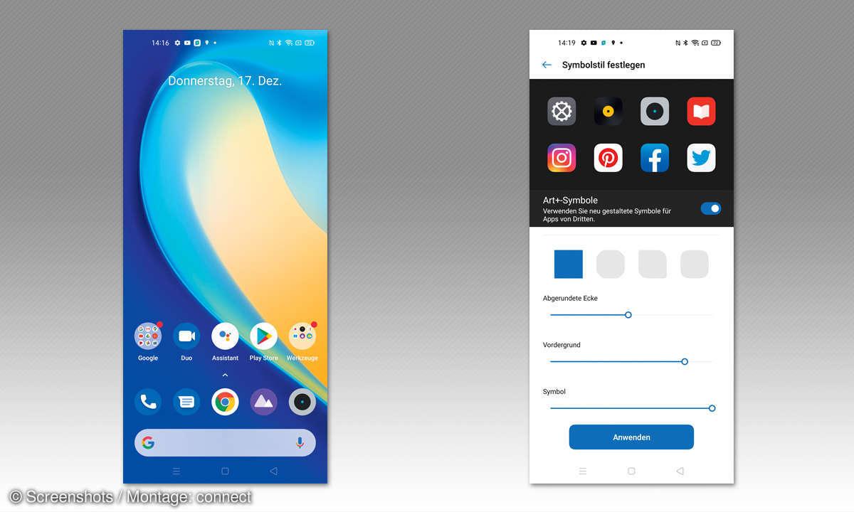 Realme 7 5G im Test - Screenshots