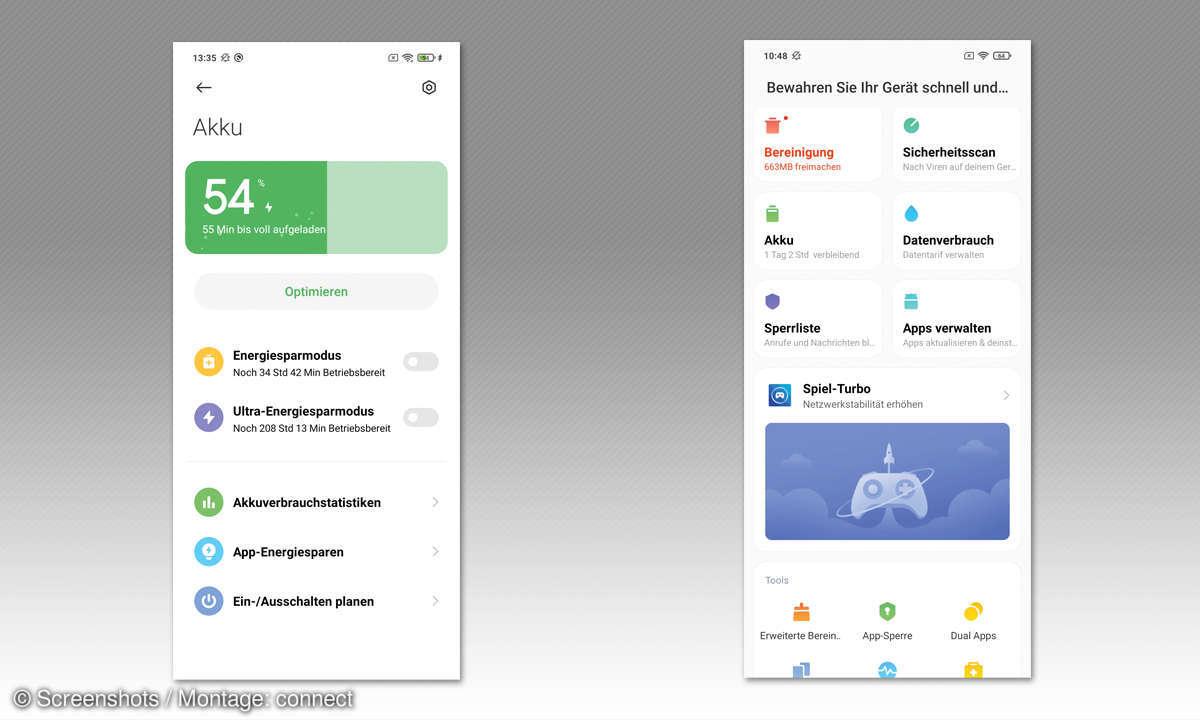 Xiaomi Mi 10T Lite im Test - Screenshots