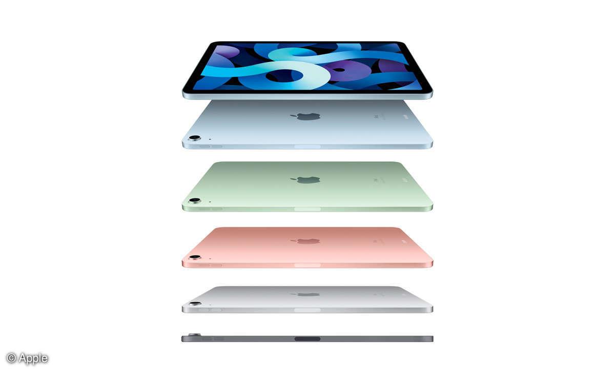 Apple iPad Air 2020 im Test - Gehäusefarben