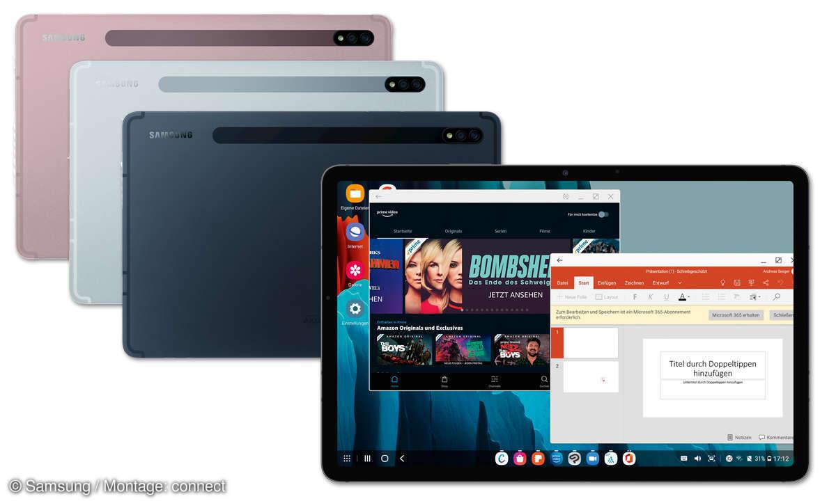 Samsung Galaxy Tab S7 Farben