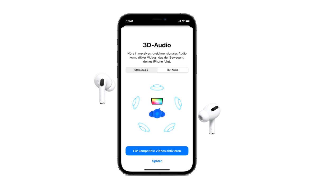 AirPods 3D-Audio