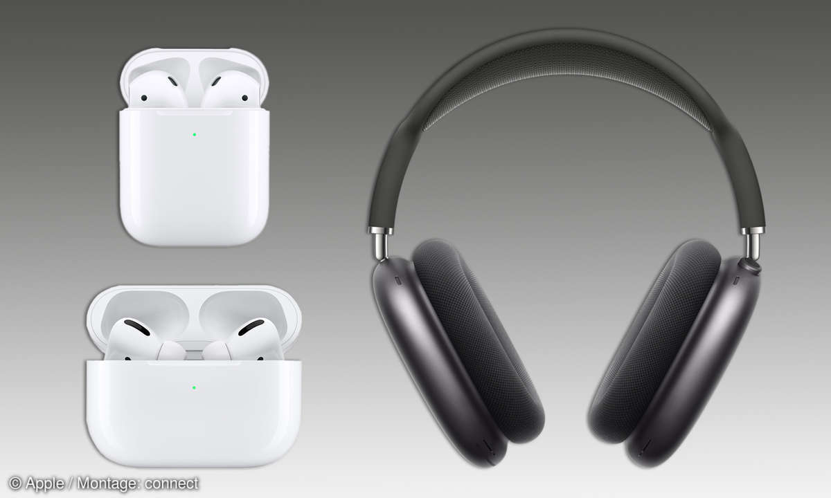 AirPods, AirPods Pro und AirPods Max