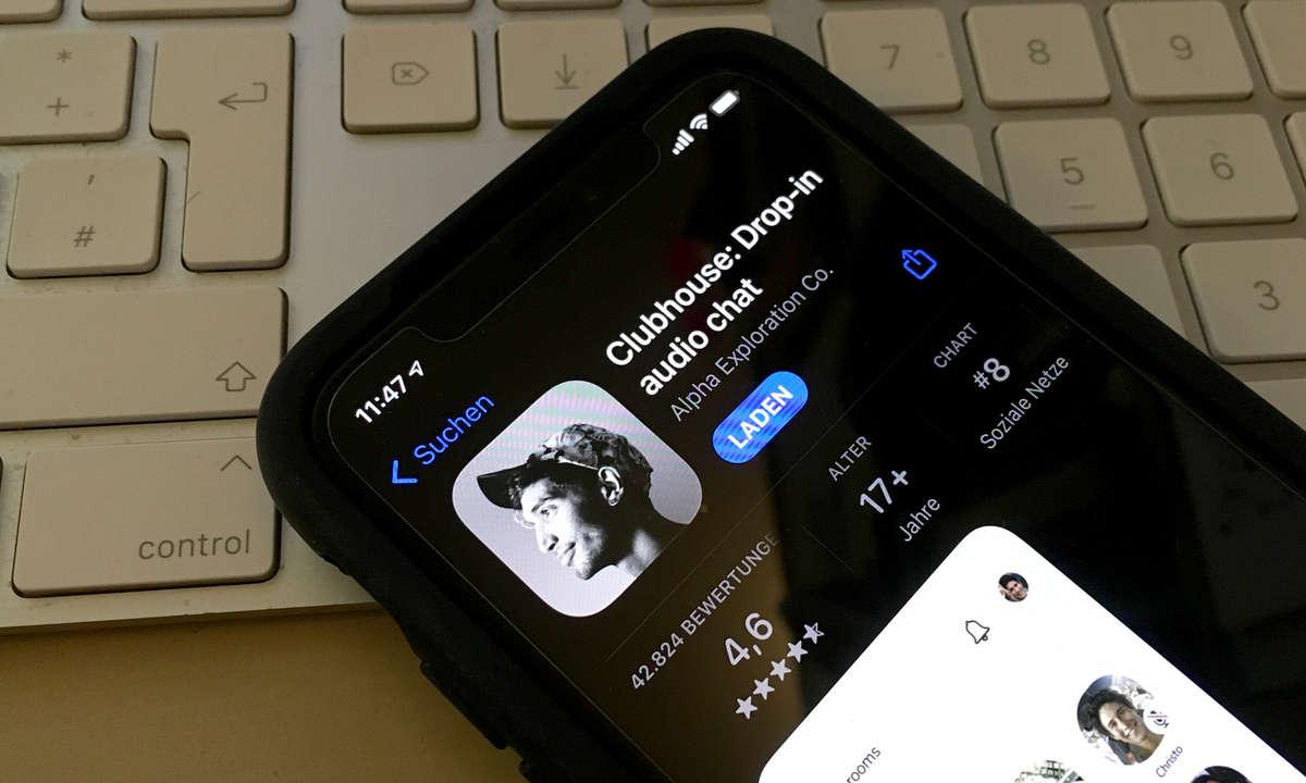 Clubhouse-App für iPhone im App Store