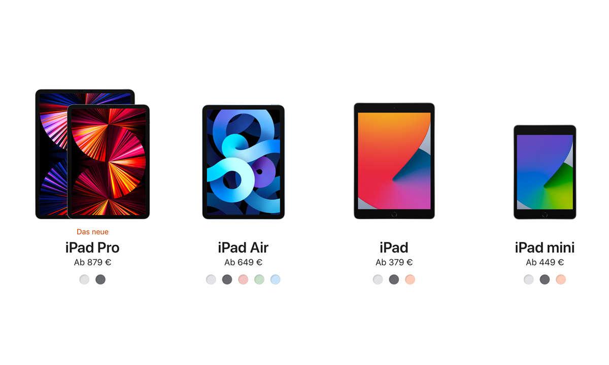 iPad-Modelle 2021