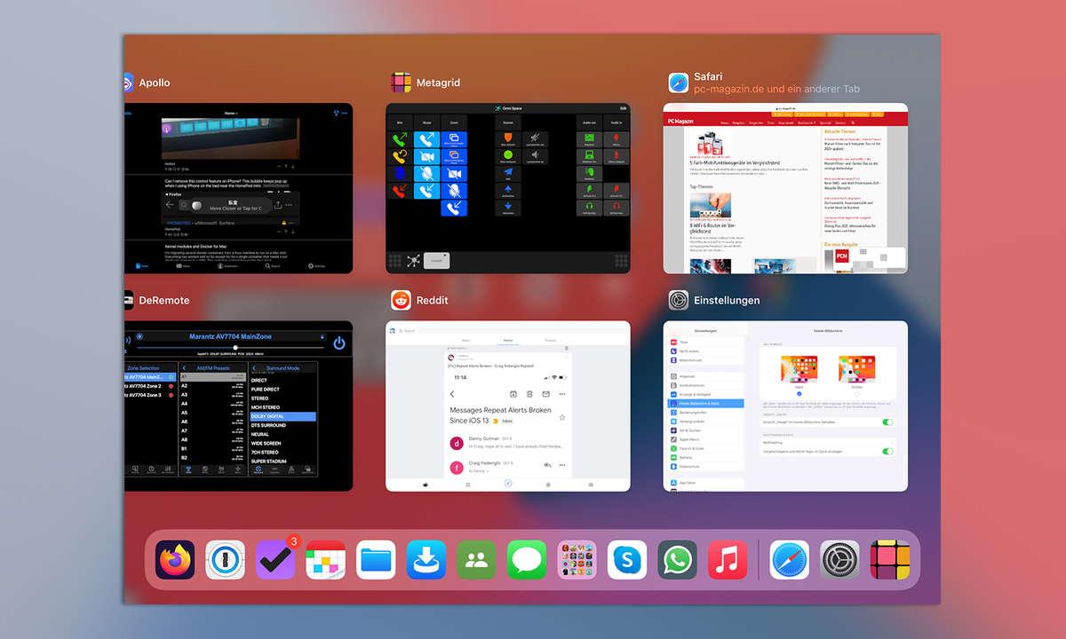 Multitasking iPadOS 14: Apps schließen und wechseln mit Exposé