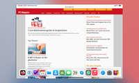 Multitasking iPadOS 14: Dock einblenden